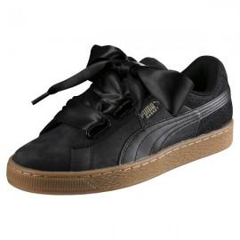 lowest price 224fe ffc36 Basket Heart Perf PUM Women s Trainers