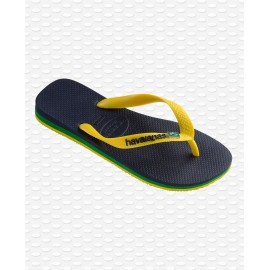 HAVAIANAS BRASIL LAYERS BLUE/YELLOW