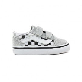 VANS CHECKERBOARD OLD SKOOL V CON GLITTER