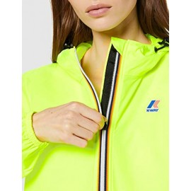 K-WAY LE VRAI 3.01 CLAUDETTE K005IF0 Fluo Donna