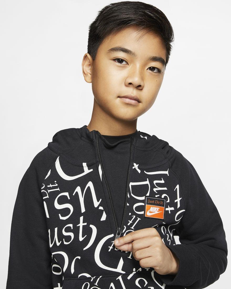 felpa nike ragazzo 11 anni