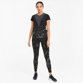 PUMA T-shirt da training da donna Metal Splash Deep 519037