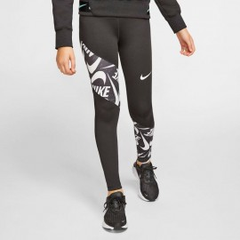 NIKE LEGGINGS Nike Trophy - Ragazza CJ7586 Nero