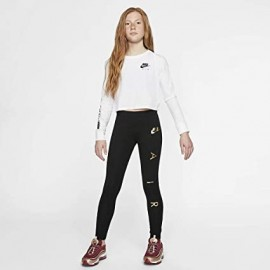 NIKE Leggings Nike Air J-strech Jr AQ9176 Nero/Oro