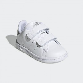 ADIDAS  STAN SMITH BABY EE8485 BIANCO GLITTER