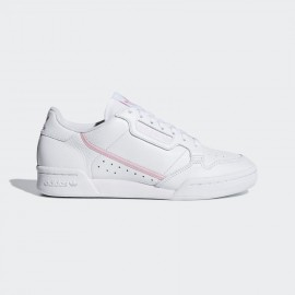 ADIDAS CONTINENTAL 80 SHOES LADY G27722 Bianco/rosa