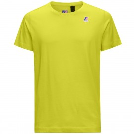 K-WAY T-SHIRT LE VRAI EDOUARD  K007JE0  Green Lime