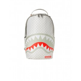 Sprayground Sharks In Paris: Mean & Clean Backpack (B2947) White Checker