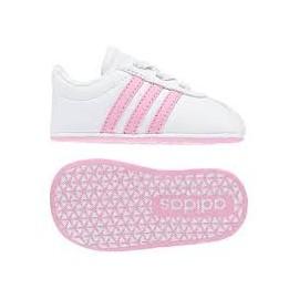 ADIDAS SCARPE BABY VL COURT 2.0 White / True Pink