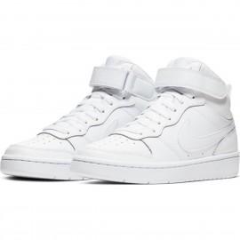 NIKE Nike Court Borough Mid 2 CD7783 BIANCO