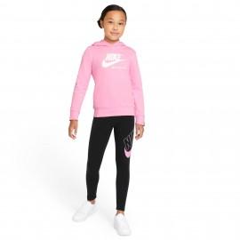 Nike Sportswear Leggings ragazza CU8943 Nero/Rosa