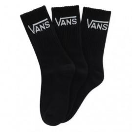 VANS CLASSIC CREW  SOCKS (3 PAIRS) BLACK