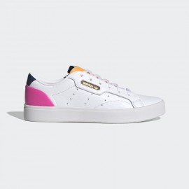 ADIDAS SCARPE SLEEK FY5058 White/Orange /Pink