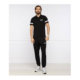 ARMANI EA7 Polo 3KPF04 Black