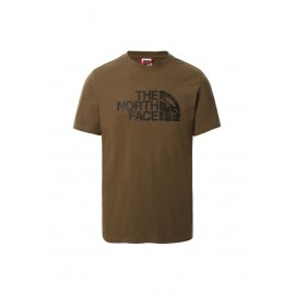 The North Face T-SHIRT Uomo WOODCUT DOME Military