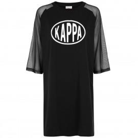 Kappa AUTHENTIC POP ELTAN 3116F1W Black-White