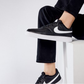 Nike Court Vision Low Sneakers Unisex CD5434 Black/White