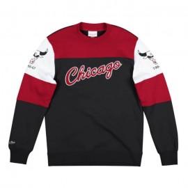 MITCHELL & NESS Perfect Season Crew Fleece Chicago Bulls