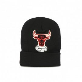 MITCHELL & NESS Cappello Nba Chenille logo  Black/original  CHICAGO BULLS